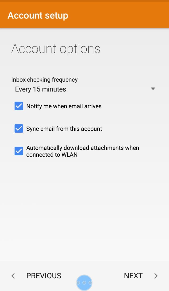 Cara Setting Webmail Ke Hp 4
