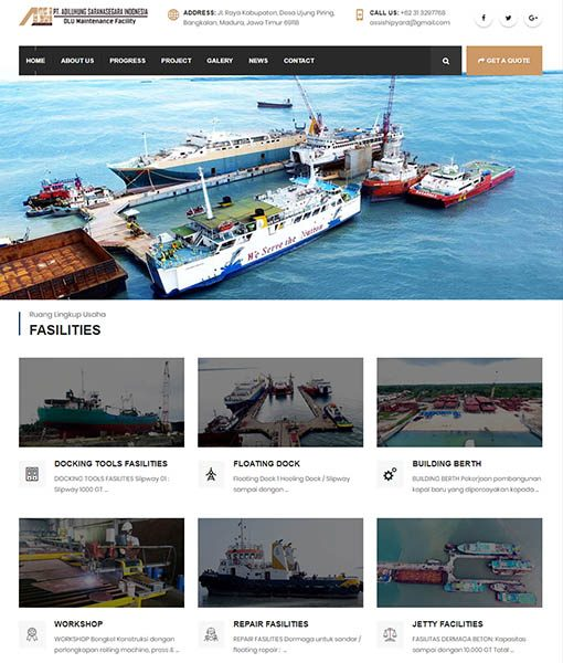WEBSITE PT. ADILUHUNG SARANASEGARA INDONESIA