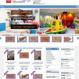 website wallpaper dinding malang