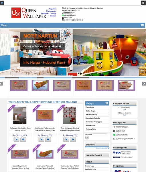 website wallpaper dinding malang