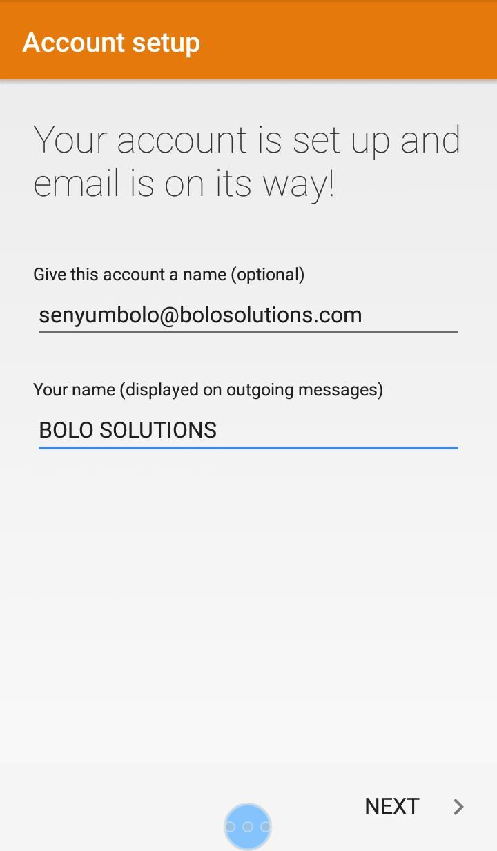 Cara Setting Webmail Ke Hp 5