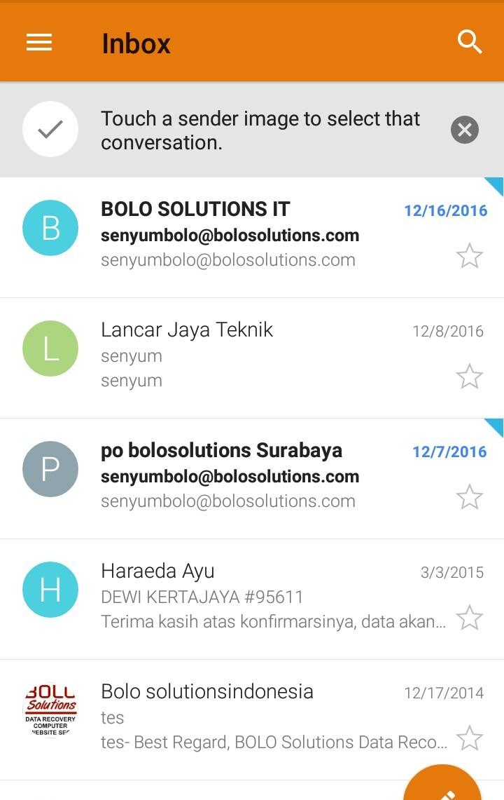 Cara Setting Webmail Ke Hp 6