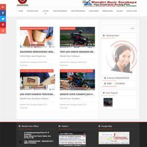 WEBSITE PENGIRIMAN BARANG SURABAYA
