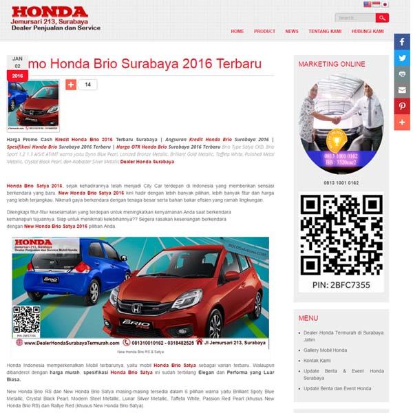 website sales mobil honda surabaya murah