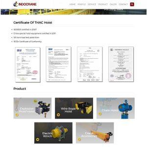 pembuatan website alalt berat surabaya