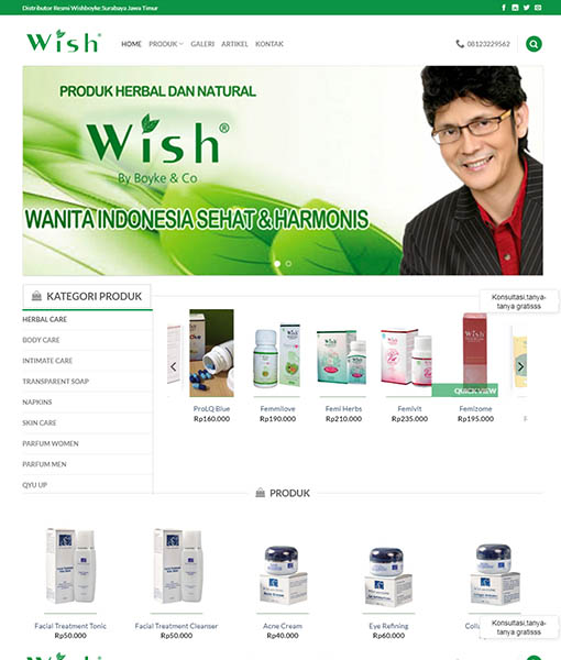 WEBSITE JUAL OBAT HERBAL