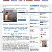 desain website wallpaper dinding murah