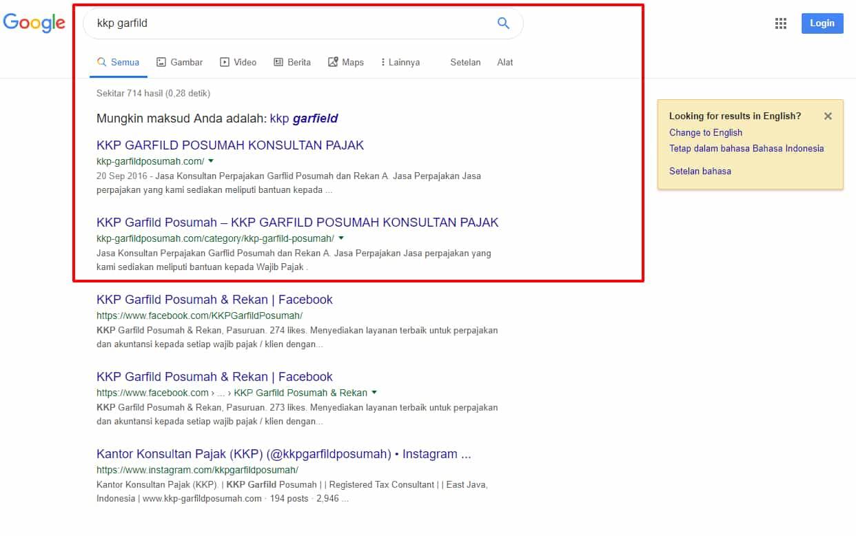 kkp garfild surabaya keyword bolo solutions